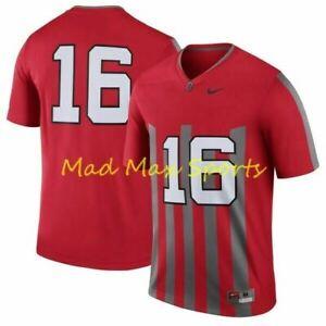 JT BARRETT #16 OHIO STATE OSU BUCKEYES Nike NCAA Limited THROWBACK Jersey Sz XL