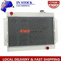 3ROW Aluminium Radiator FOR Holden LC/LJ/LH/LX Torana Chev/6cyl