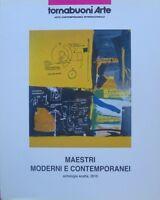 Maestri moderni e contemporanei: antologia scelta 2010.
