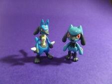 U3 Tomy Pokemon Figure 4th Gen  Riolu Lucario (old Version)