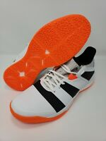 Adidas  Stabil X Volleyball F33828  man white/orange shoes sz 11 Brand  New