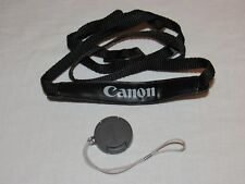 Genuine Canon SS-800 Shoulder Strap and Lens Cap and Cord for the Model ZR65