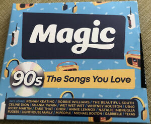 Various Artists : Magic 90s: The Songs You Love CD Box Set 3 discs (2020) Sealed