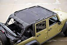Eclipse Mesh SunShade Bikini Top Cover For 2007-2018 Jeep Wrangler JK JKU 4-Door