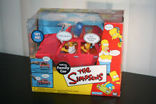 The SIMPSONS (2000) TALKING FAMILY CAR new, RARE !