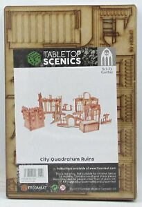 TTCombat TTSCW-SFG-061 City Quadratum Ruins (Sci-Fi Gothic) Terrain Scenery NIB