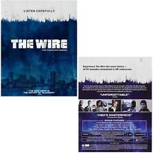 THE WIRE 1-5 (2002-2008): COMPLETE HBO Crime TV Season Series - NEW BLU-RAY UK