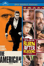 The American / Burn After Reading (DVD), New DVD, ,