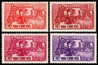 ✔  SOUTH VIETNAM 1963 - FAO HUNGER - MI#284/287 SC#207/210 ** MNH OG [VN284]