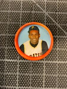 1963 SALADA JUNKET COINS COIN ROBERTO CLEMENTE PITTSBURGH PIRATES NEAR MINT