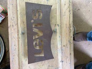 Levi's Metal Sign