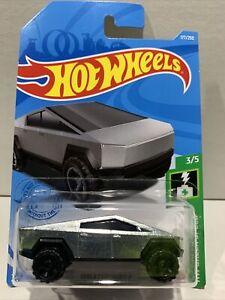 Hot Wheels Tesla CyberTruck [Zamac] 2021 - New SEALED UNOPENED HTF