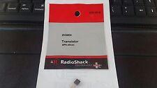 Brand New RadioShack 2N3904 Signal Transistor NPN Silicon # 276-2016
