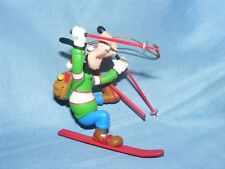 Disney Grolier Goofy Skiing Christmas Decoration 109 26231 Boxed
