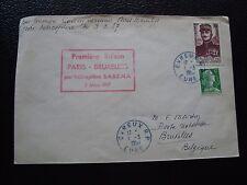 FRANCE -  enveloppe 1/3/1957 (cy99) french