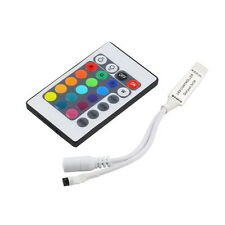 Mini 24Key IR Remote Controller Wireless For 3528 5050 RGB LED Strip IB