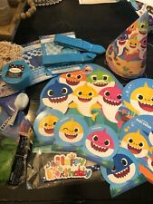 Pinkfong Baby Shark birthday supplies and decorations!
