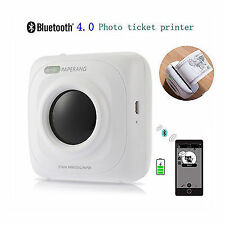 Mini Portable Pocket Mini Mobile 57mm Bluetooth Wireless Thermal Receipt Printer