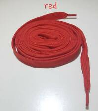 Shoe laces For Boot Trainer Shoes Football Boots Coloured 10MM You Choose