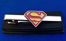Superman Tie Clip Superhero Gift Idea Superman Logo Batman Ironman Flash