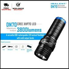 IMALENT DN70 3800 Lumens With XHP70 LED Versatile USB LED Tactical Flashlight !