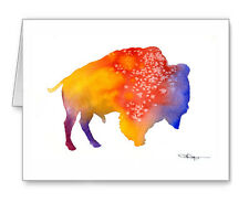 Buffalo Note Cards With Envelopes
