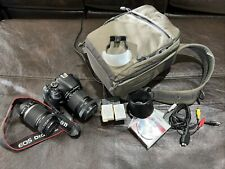 Canon Eos Rebel T3i 18.0Mp Digital Slr Camera - Black (Kit, 18-135, 55-250 Lens)