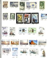 Australia Antarctic Territory Mostly Used Stamp Grouping + 1 Specimen (x63)