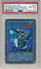 Paladin of White Dragon - MFC-026 - PSA NM-MT 8 - Ultra Rare 1st Yugioh 3Q6