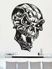 "Vinyl Wall Decal Sticker SKULL HEAD 30""x21"" Big"