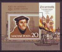 HUNGARY - 1983. 500th Anniversary of Martin Luther S/S-MNH