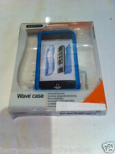 Iphone 3 G & 3GS Case Blue Wave/housse/coque dure protection par Griffin Elan