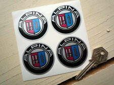 ALPINA BMW Wheel Centre Style Stickers 50mm Set of 4 Hub Cap Alloy M3 D3 Car M4