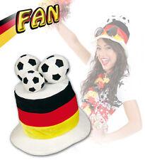 Germania CILINDRO CALCIO NUOVO - Carnevale Cappello berretto copricapo