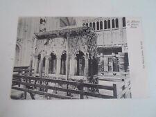 Rare Vintage Postcard St Albans Shrine Wrench Series 6302 Franked 1908  §A35