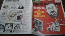 CHARLIE HEBDO 30/01/2019 - No 1384 -  Couverture FELIX - hanouna - comme  NEUF