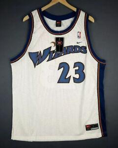 100% Authentic Michael Jordan Nike Wizards Sw Jersey Sz 2XL