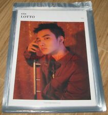 EXO LOTTO SMTOWN COEX Artium SUM OFFICIAL GOODS DO D.O. A4 SIZE PHOTO SEALED