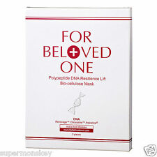 FOR BELOVED ONE POLYPEPTIDE DNA RESILIENCE LIFT BIO-CELLULOSE MASK 3pcs