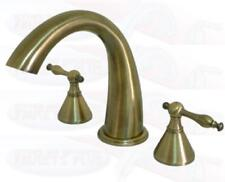 Kingston Antique Brass Roman Tub Faucet KS2363NL