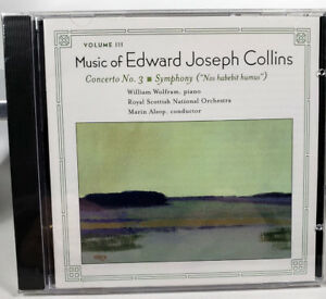 Music of Edward Joseph Collins Concerto No. 3 Symphony New in Wrap