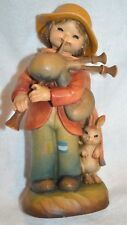 "Anri Juan Ferrandiz ""JOLLY PIPER"" 6"" Wood Carved Carving Figure 368/2250"