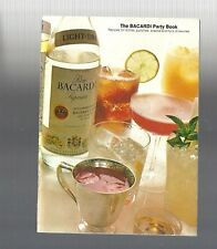 Vintage Collectible 1972 The Bacardi Par