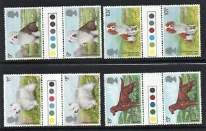 GB 1979 Dogs traffic light gutter pairs MNH. Unfolded stamps. Free Postage!!