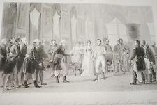 NAPOLEON ST CLOUD EMPEREUR DES FRANCAIS  GRAVURE 1838 VERSAILLES R1071 IN FOLIO