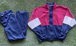 Vintage Christian Dior Monsieur Track Suit Sweatsuit Mens XL GOOD CONDITION