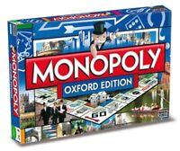 Original Monopoly Oxford Edition englisch Gesellschaftsspiel Brettspiel Spiel