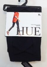 Hue Criss Cross Cotton Leggings Size X Large  Nwt  Black US 16/18