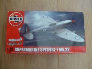 L215 Airfix Model Kit A02033 - Supermarine Spitfire F Mk 22 - 1/72