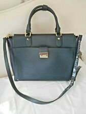 """ACCESSORIZE"" DESIGNER LARGE GREEN & BLUE TOTE / SHOULDER BAG!!!"